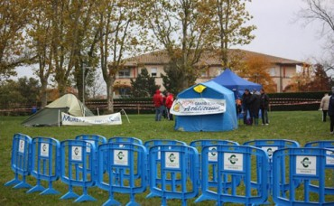 Congost cyclo-cross support in Colomiers, France