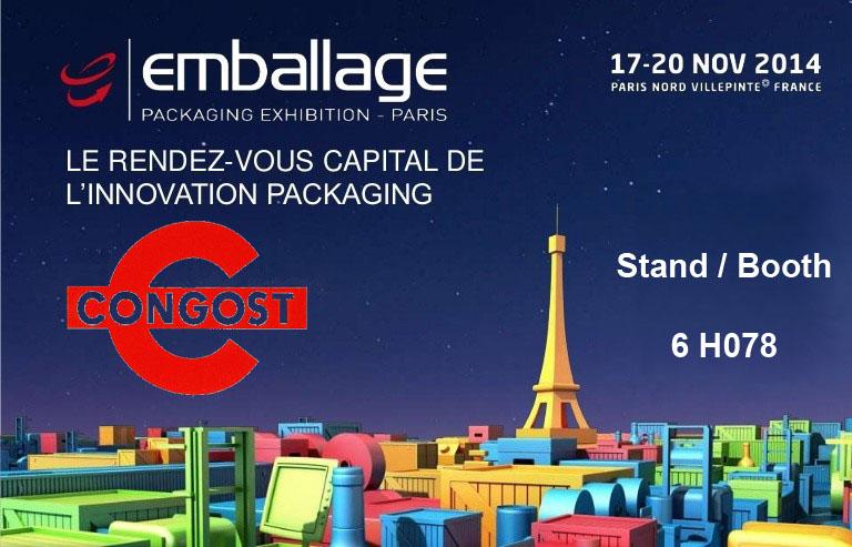 Emballage 2014, Paris