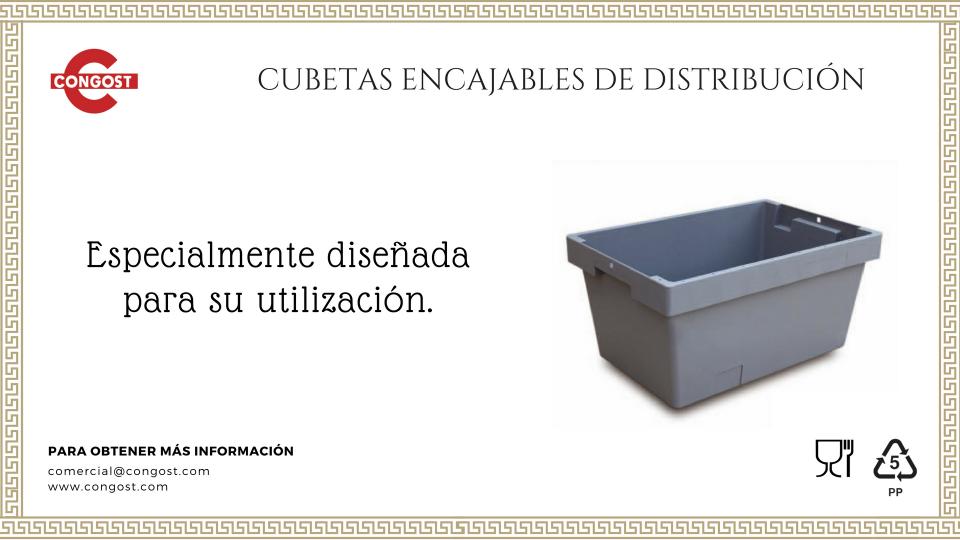 Nueva gama: Cubetas Encajables de Distribución
