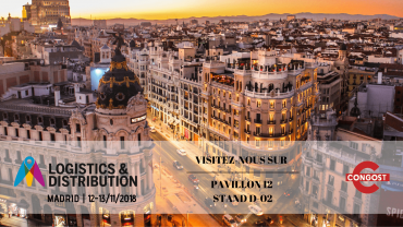Congost au salon Logistics & Distribution 2018