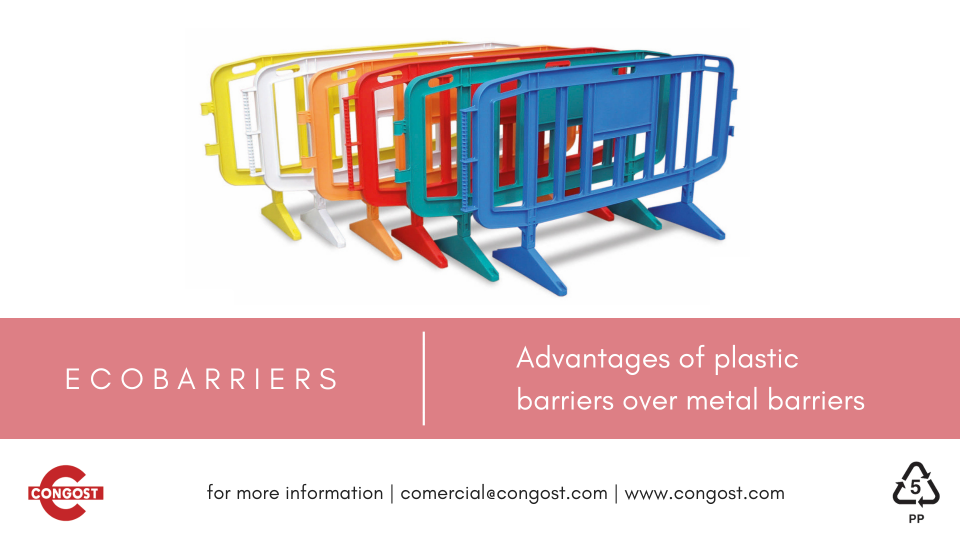 Advantages of plastic barriers over metal barriers