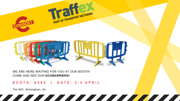 We'll be exhibiting at Traffex!