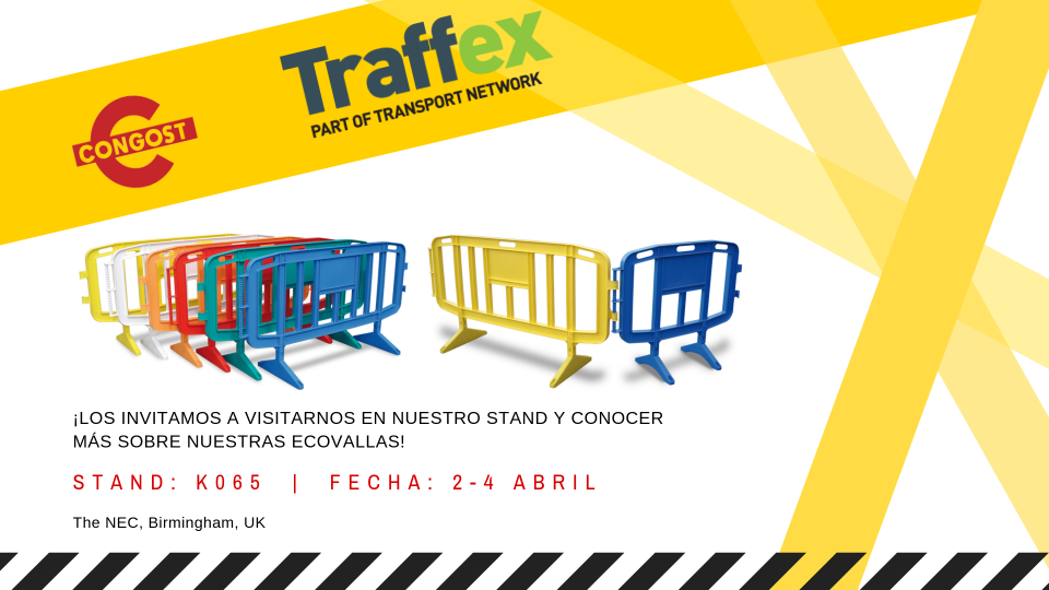 ¡Estaremos presentes en el Traffex!
