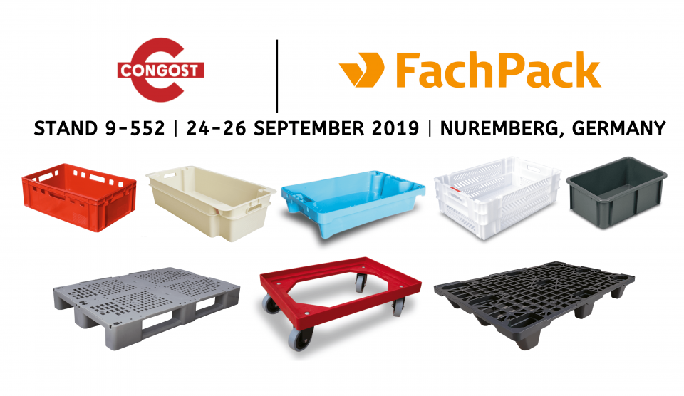 WE'LL BE EXHIBITING AT FACHPACK 2019!
