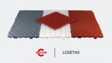 Video: Losetas antideslizantes C50-25L