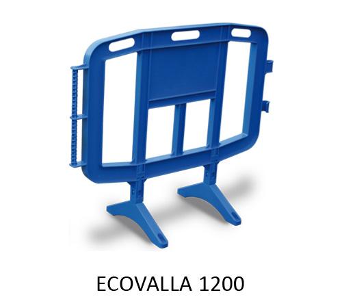 Congost Vallas de Seguridad Ecovalla 1200