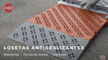 Video: Losetas antideslizantes C50-50L