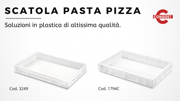 Scatola pasta pizza