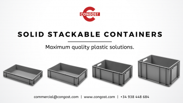 Transport and Storage Solutions: Solid Stackable Containers