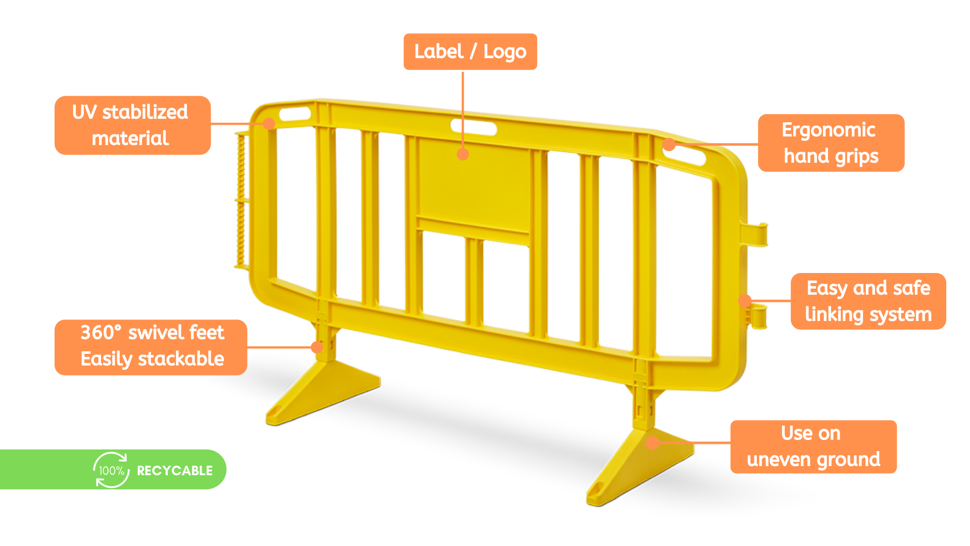 Congost Safety Barriers Features