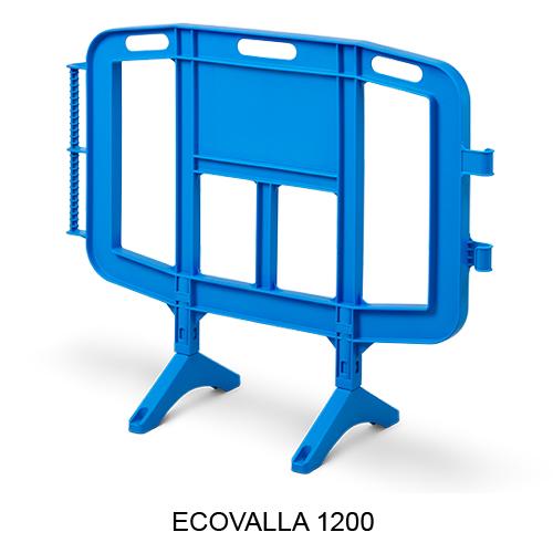 Vallas de plástico 1200